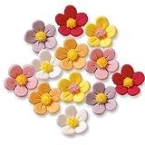 Günthart 24 Blumen aus Feinzucker, bunt
