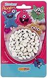 Decocino Essbare Zuckeraugen HOCHWERTIG von DEKOBACK | Augen aus Zucker zur Dekoration von Muffins, Cupcakes, Cake Pops, Kuchen, Torten etc. | 1er Pack (1 x 25 g) | Augen aus Zuckerguss kaufen