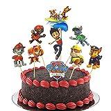 45 Stück Paw Patrol Tortendeko,Cake Toppers Cupcake Deko,Paw Patrol Muffin Kuchen Deko,für Kinder Geburtstag Party Torte Deko Supplies (Paw Patrol)