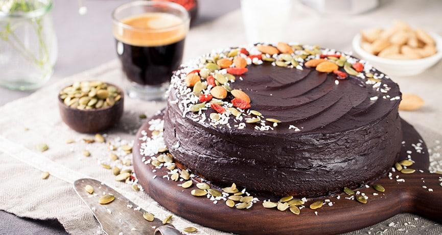 Vegane Torten - einfach gebacken und sehr lecker